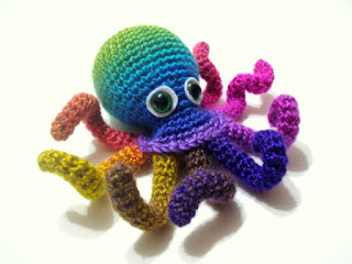 Easy Amigurumi Octopus : Small amigurumi octopus