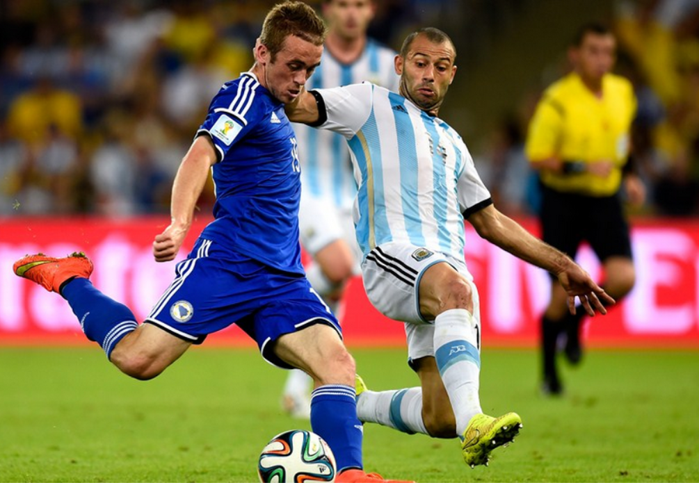 FIFA World Cup Qualifying 2014: Argentina 2