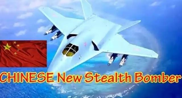 Αυτό είναι το νέο stealth κινέζικο στρατηγικό βομβαρδιστικό - Εντοπίστηκε από δορυφόρους (βίντεο)