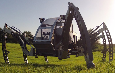 Mantis Hexapod Walking Machine