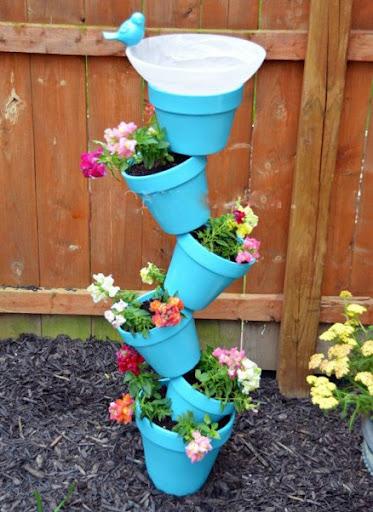 Dicas de Popola: Decoração de Jardim / Reciclagem
