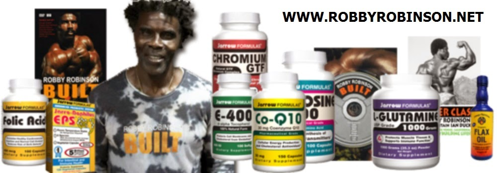 Robby Robinson's Online Store - Bodybuilding Books, DVDs, Supplements, Shirts and T-Shirts, Training Programs ● www.robbyrobinson.net/motivation.php ●