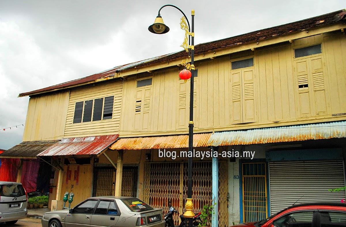 Old Wooden Buildings in Terengganu