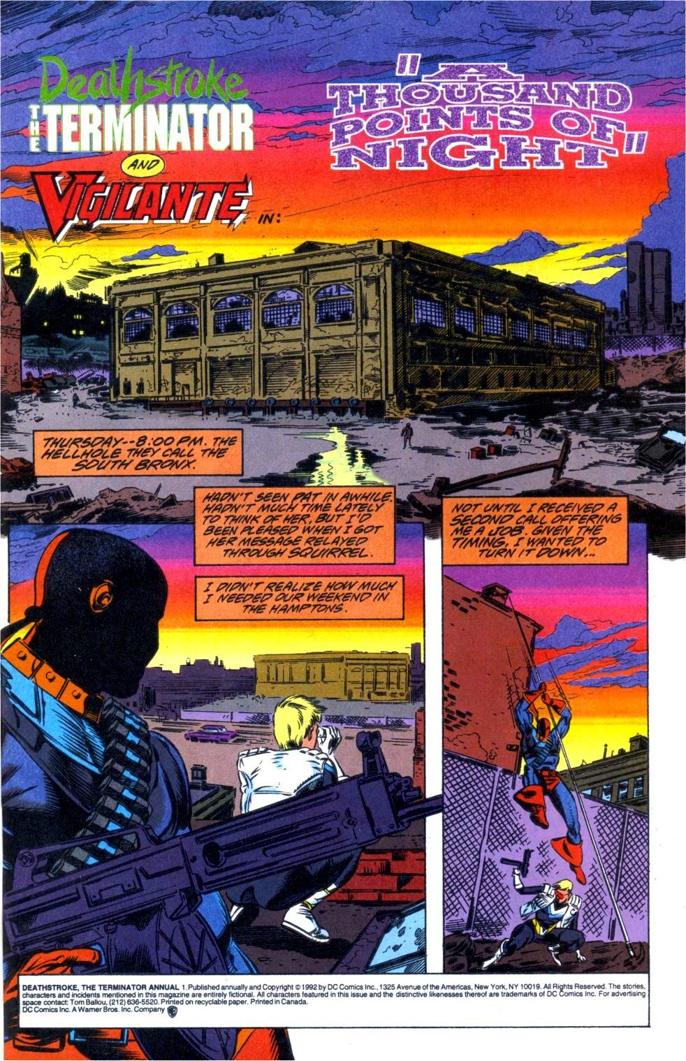 Deathstroke (1991) Annual 1 #1 - English 2