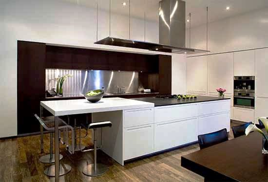 Casa minimalista en california por steve kent casa for Casa minimalista interior cocina
