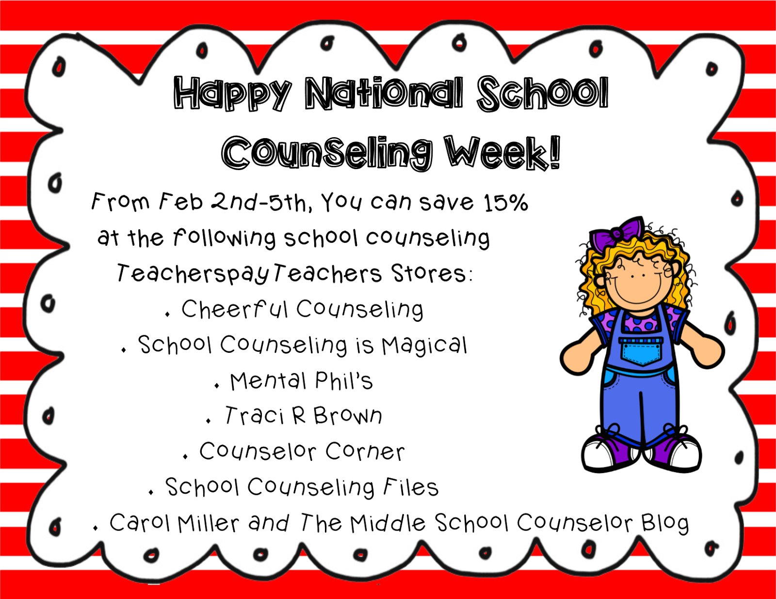Cheerful Counseling : #NSCW2015: Happy National School Counseling Week