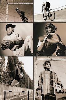 Фотографический клипарт по теме спорта