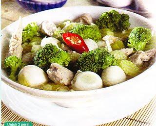 Jamur Brokoli Telur Puyuh
