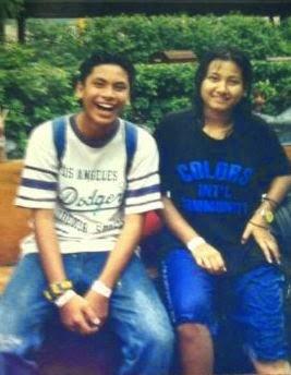 Si Kembang & Si Kurus.. now terbalik he he he