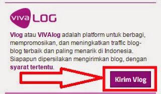 gambar cara submit artikel di vivalog