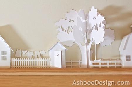 Ashbee Design Silhouette Projects 3d Ledge Village