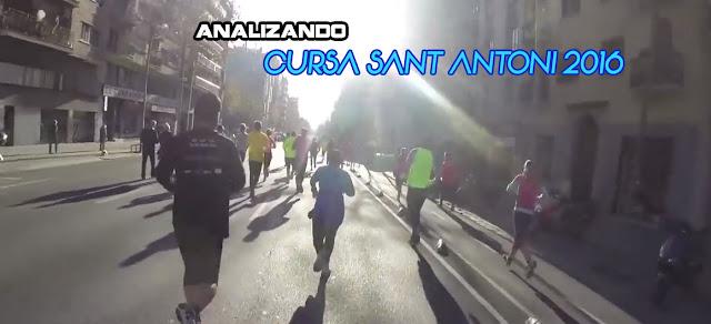 Analizando Cursa Sant Antoni 2016
