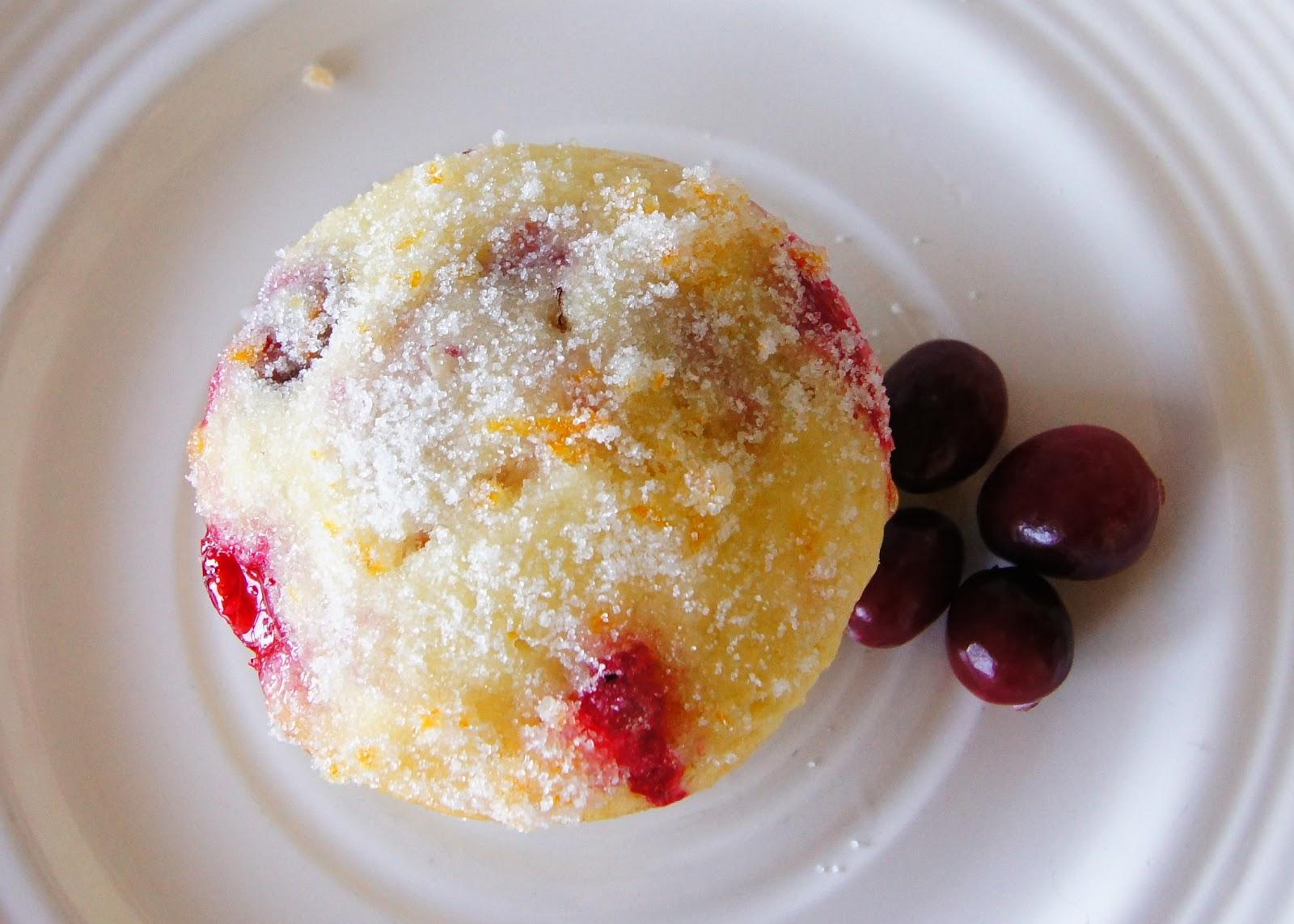 headtones: Cranberry Orange Muffins