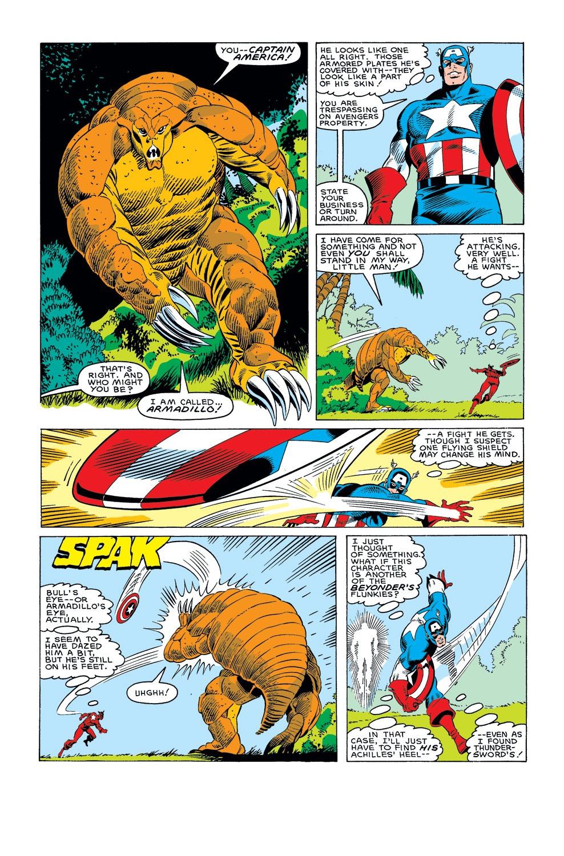 Captain America (1968) Issue #308 #236 - English 7