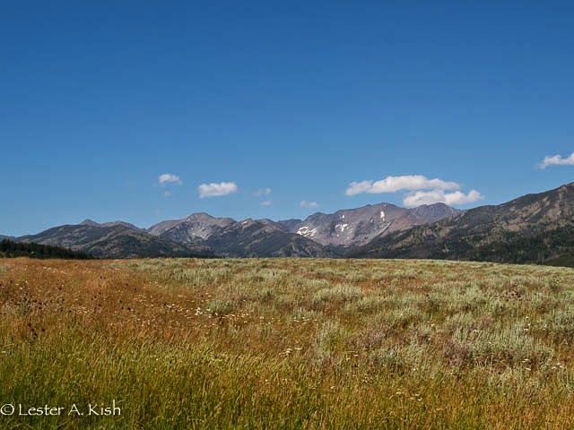 West slope of Crazy Mountains, Montana