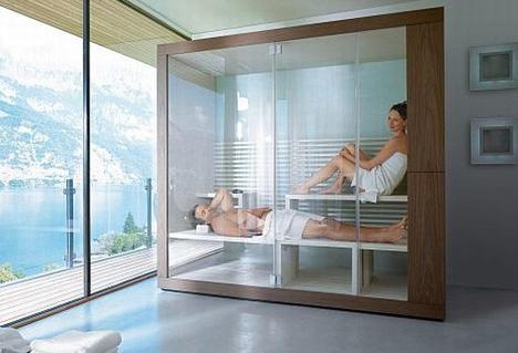 Phòng tắm xông hơi massage với nhiều tác dụng tốt cho người sử dụng