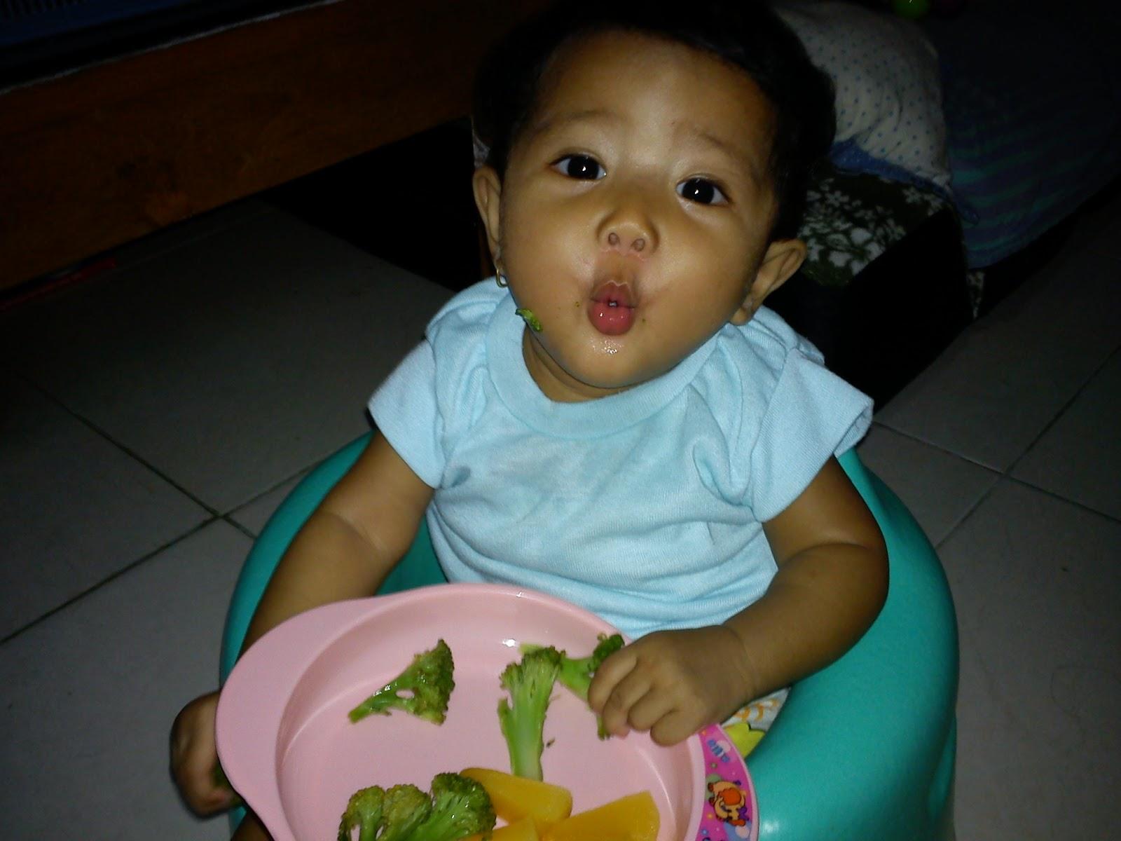 Makanan untuk bayi umur 4 bulan?