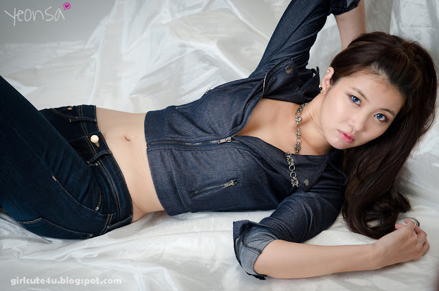 7 Jung Se On-Denim Girl-very cute asian girl-girlcute4u.blogspot.com