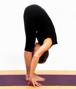Uttanasana-final yoga pose