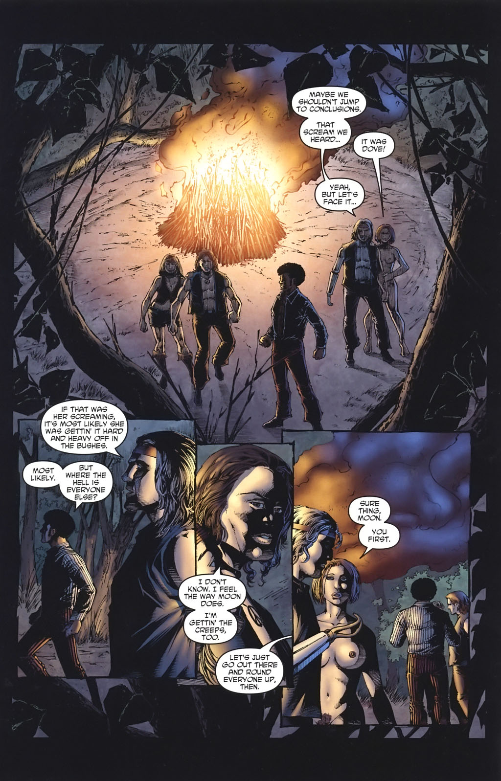 Read online Escape of the Living Dead: Airborne comic -  Issue #3 - 3