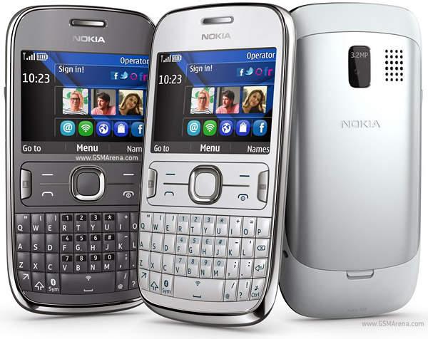 Nokia kembali mengeluarkan ponsel fitur terbarunya Asha 302. Ponsel ...