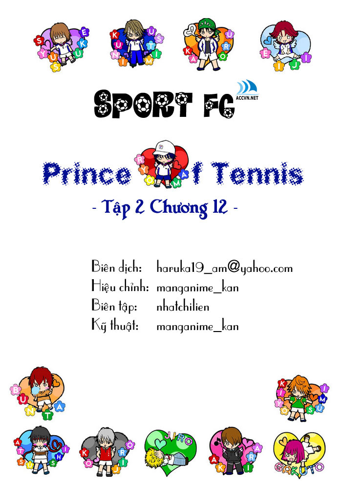 Prince of Tennis chap 12 Trang 1