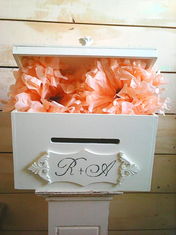 Cufar/Cutie bani nunta - KOFI -decoratiuni nunta