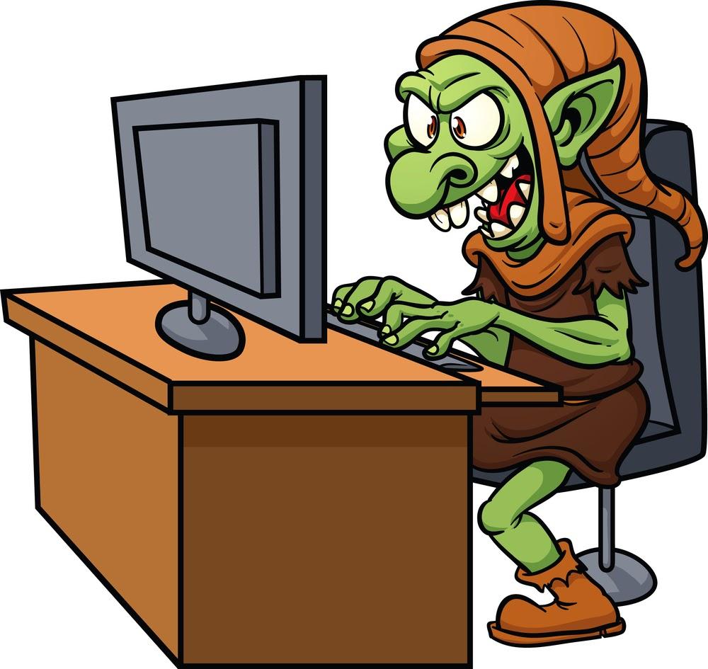 Cyber troll
