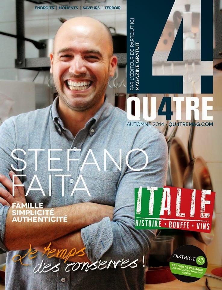 Magazine Qu4tre - Octobre 2014