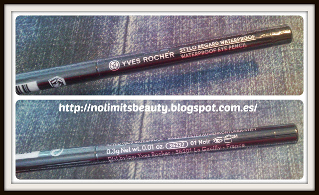 Yves Rocher: Stylo ojos waterproof (Eye Pencil 01 Noir)