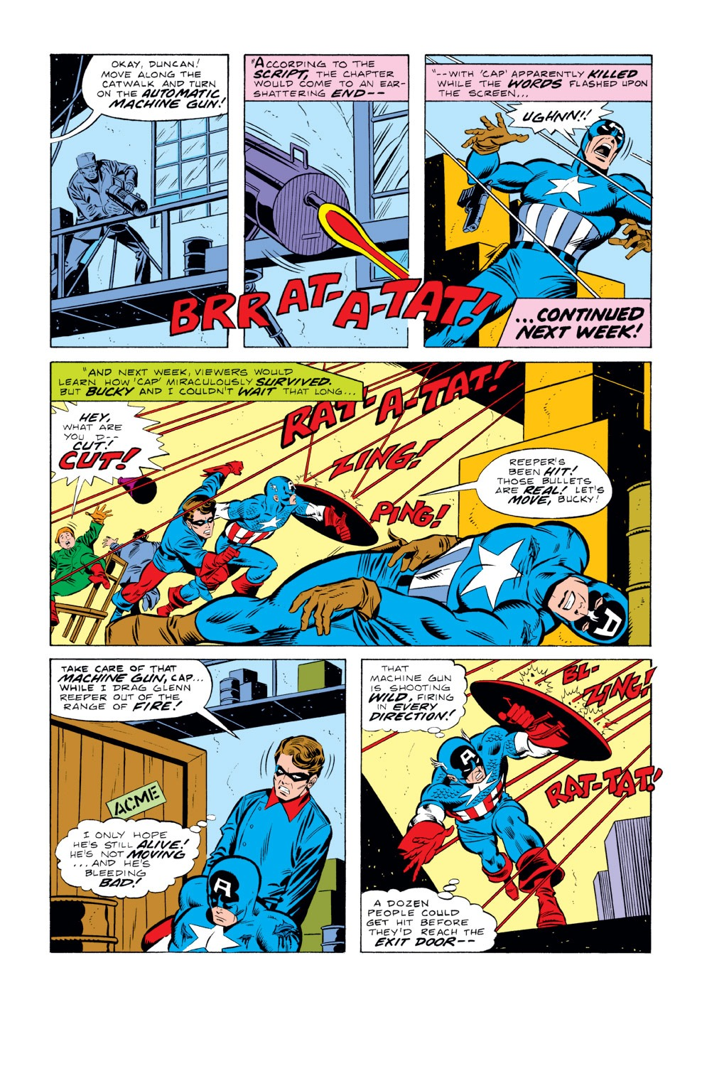 Captain America (1968) Issue #219 #133 - English 8