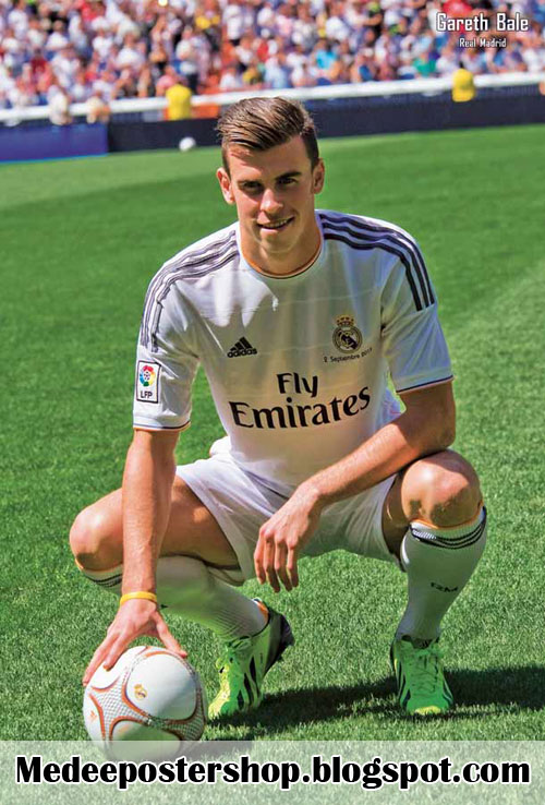 Gareth Bale Real Madrid Poster