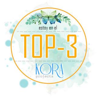 ¡Estoy en el top-3 de Kora Projects!