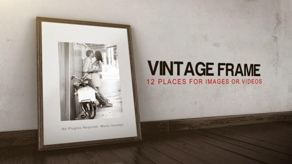VideoHive Vintage Frame Gallery