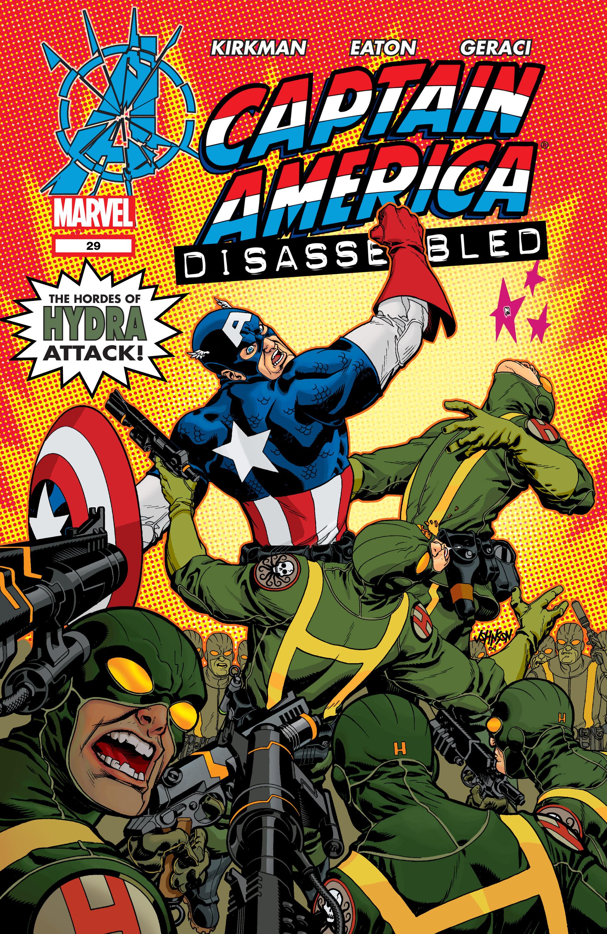 Captain America (2002) Issue #29 #30 - English 1