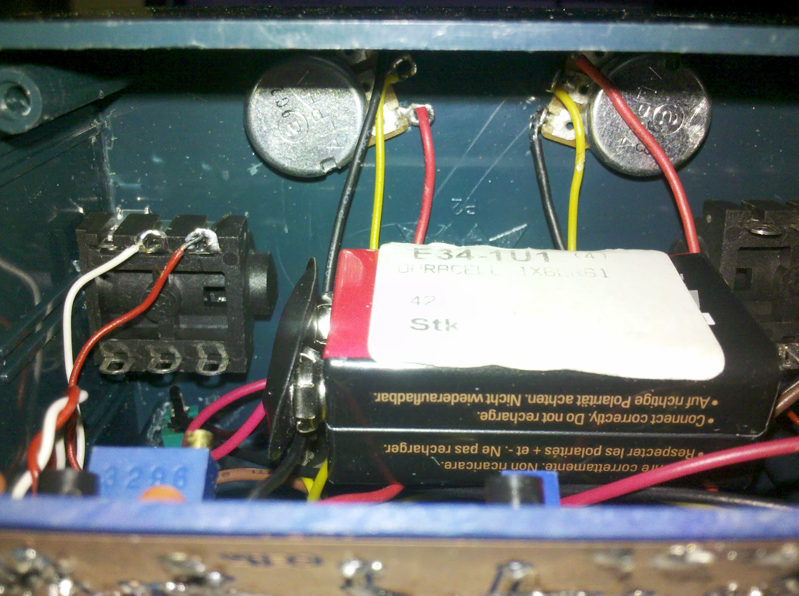 New Wiring For My Epiphone Les Paul Edmar Hobby Electronic 2012 Standard Pcb Diagram And From The Back