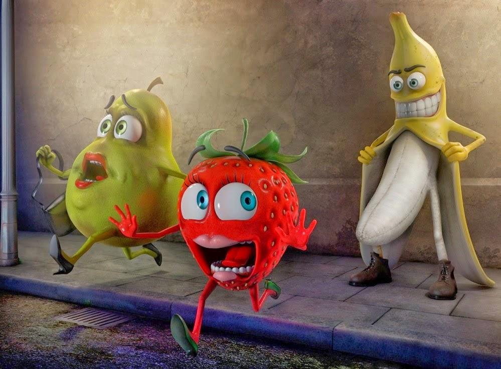 buah buahan yang lucu dan imut