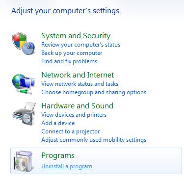 cara menghapus Safe Monitor Adware