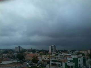 Previsão indica chuva em toda a Paraíba, mas calor continua perto dos 40ºC