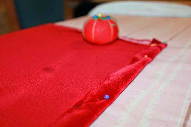 Little Red Riding Hood Cloak Cape for book by Trina Schart Hyman via www.happybirthdayauthor.com