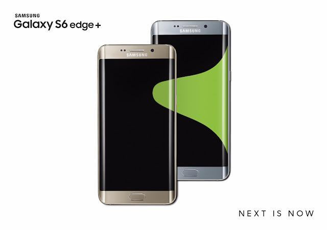 Samsung Galaxy S6 edge+ Key Visual