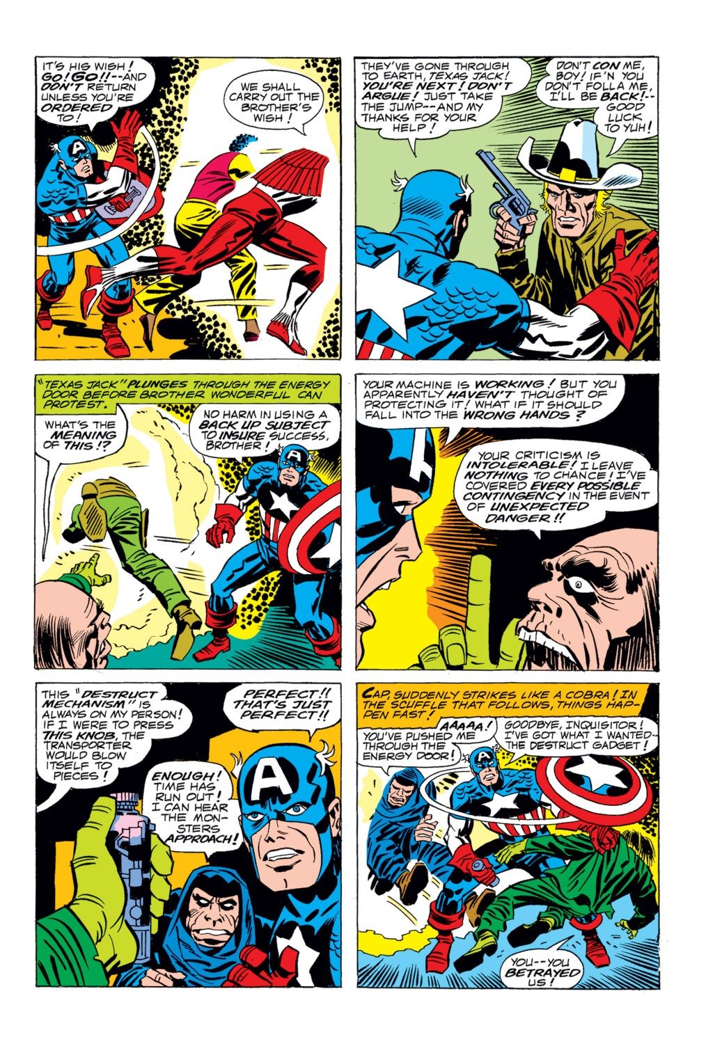 Captain America (1968) Issue #203 #117 - English 17