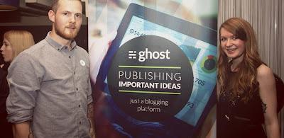 Создатели движка Ghost: Джон О'Нолан и Ханна Вульф