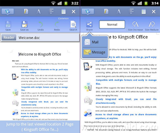 KingSoft Office Kingsoft Office   Free Office Suite Untuk Android
