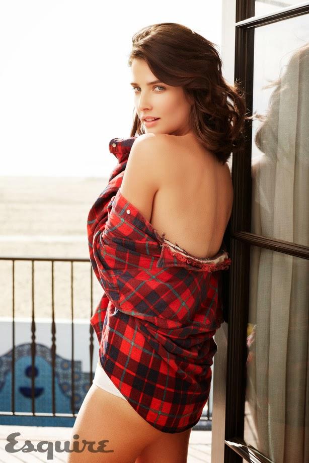 La sexy Cobie Smulders posa para el Squire de marzo de 2014