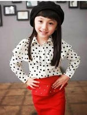 Model Baju Anak Perempuan Modis Terbaru