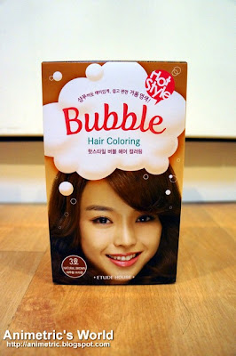 Etude House Bubble Hair Coloring in Natural Brown