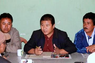 Hill TMC president Rajen Mukhia