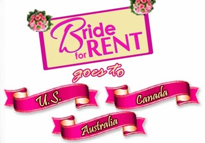 Bride For Rent International Screening Schedule Dates and Venue (US, Canada, Australia)