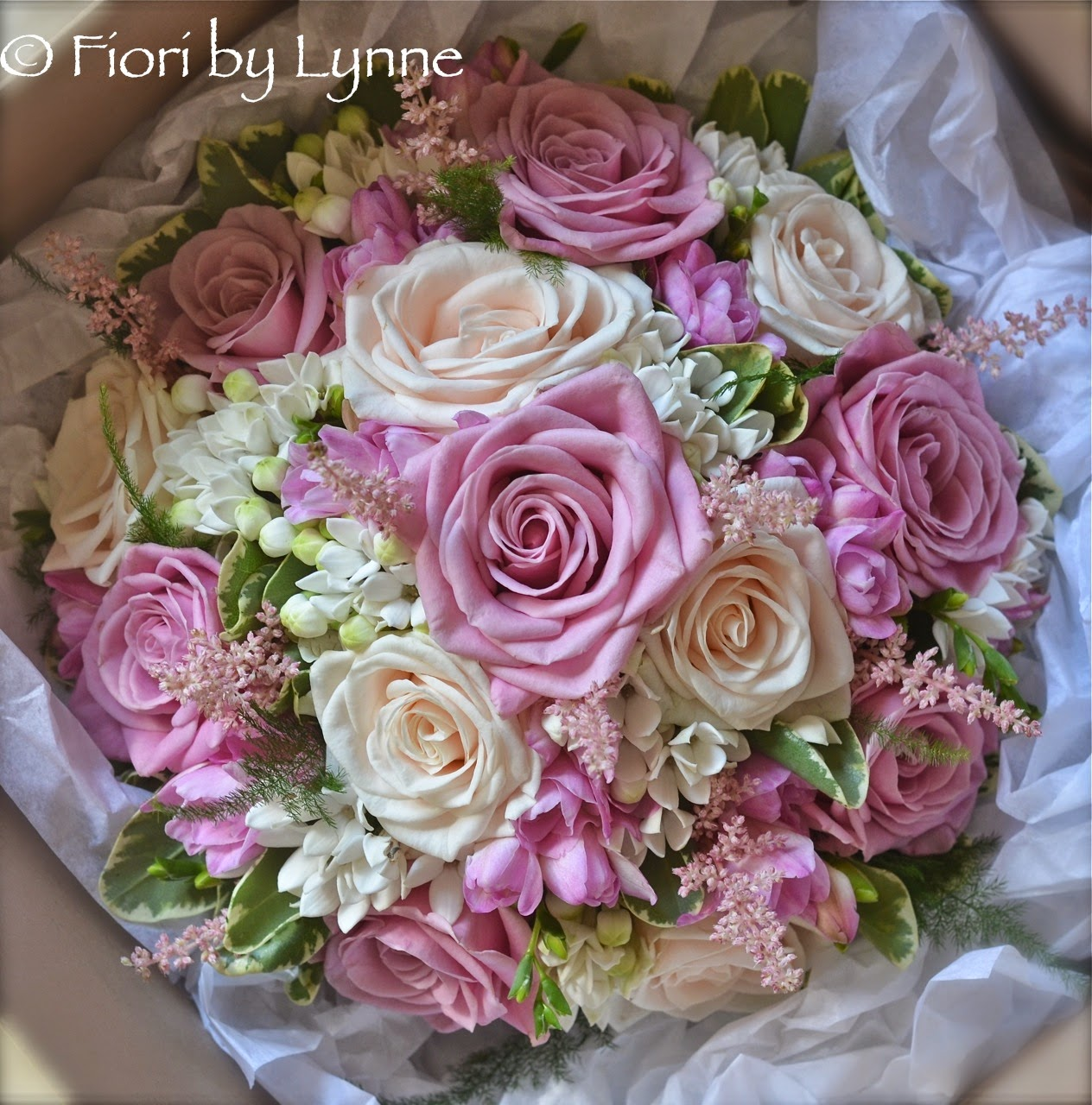 Wedding Flowers Blog: Edy\'s Vintage Pink and Cream Wedding Flowers ...